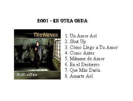 Tito Nieves   Nueva Salsa
