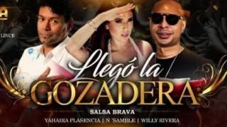 "Yahaira Plasencia, Willy Rivera y N Samble en ""Salsa Brava"" del Kímbara Vip"