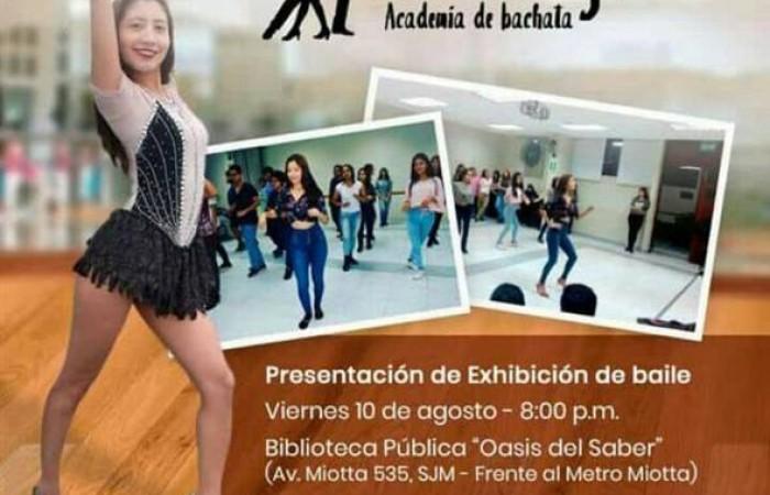 """Gran Inauguración de Academia de Baile """"Carolyne"""" en Lima"""