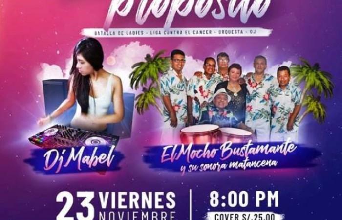 Este Viernes 23 de Noviembre tenemos una cita con Ensalsate Producciones y la Liga Peruana de Lucha Contra el Cáncer